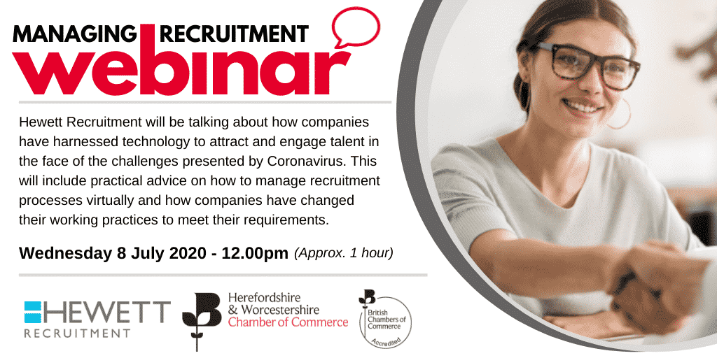 "Webinar: Recruitment reinvented for the ""new normal"""