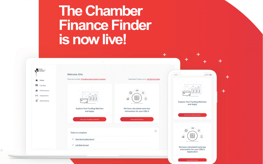 Chamber launches new Chamber Finance Finder platform, transforming Members' access to business finance