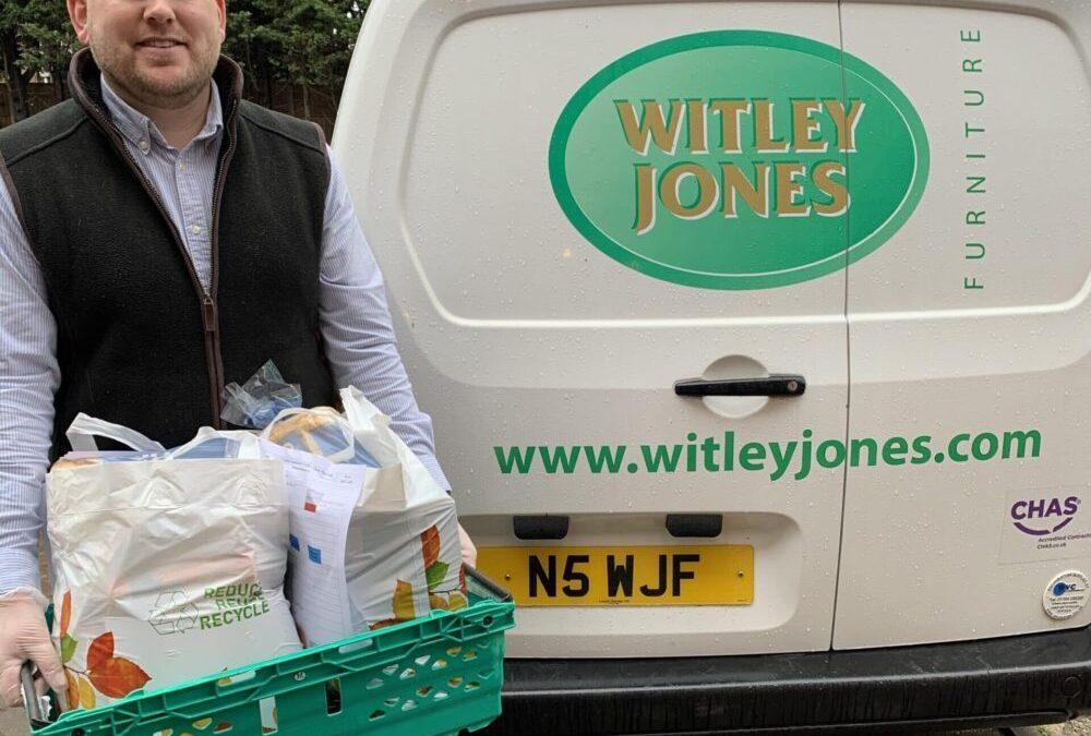 Witley Jones volunteer at Worcestershire Foodbanks