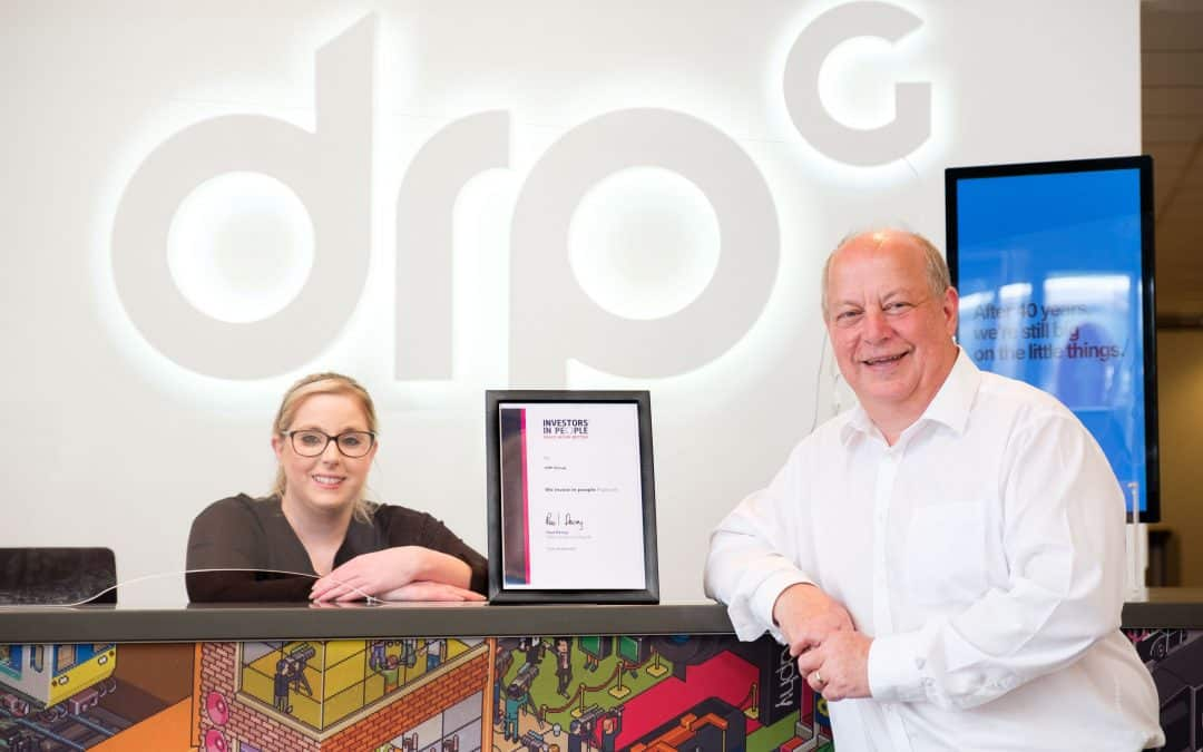 Investors in People awards creative communications group DRPG the Platinum Standard