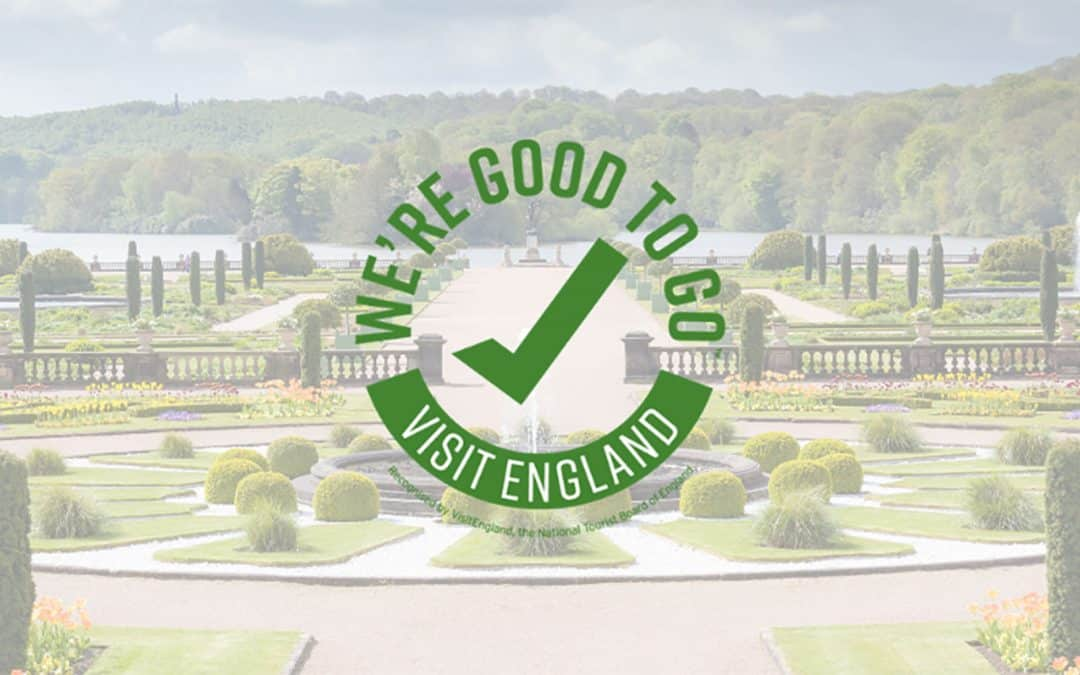 Tourism business urged to gain the Visit Britain 'We're Good To Go' Covid-19 industry standard.