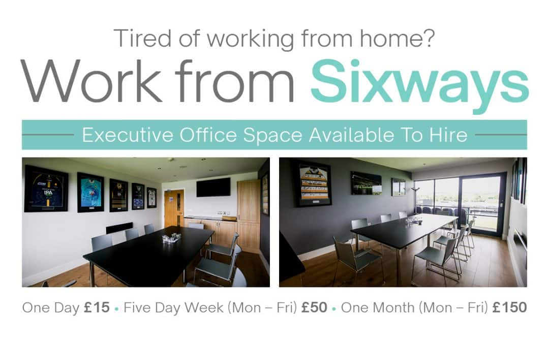 Worcestershire Warriors launch Safe Office Space at Sixways