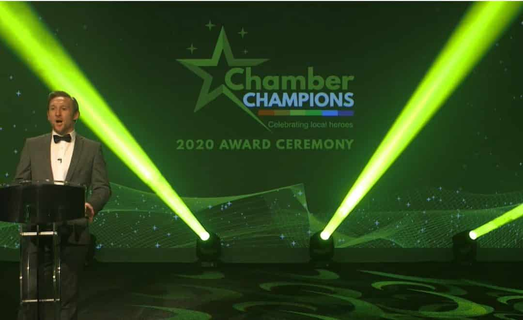 Over 200 people tune in to virtual Chamber Champions Awards ceremony