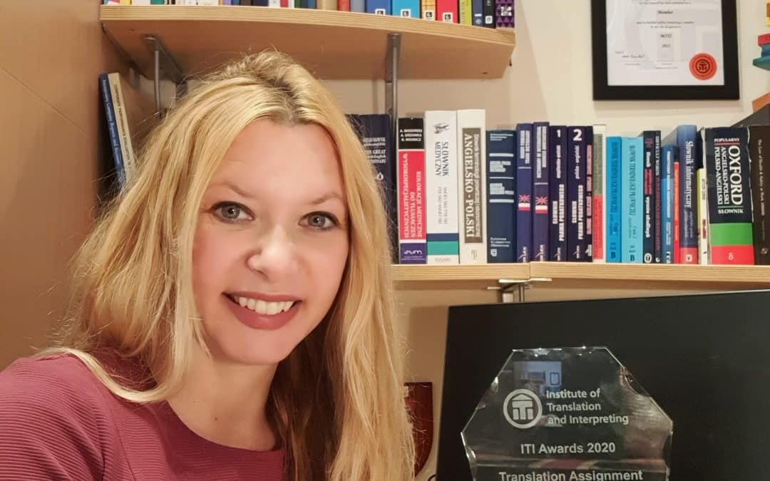 Worcestershire translator wins prestigious award
