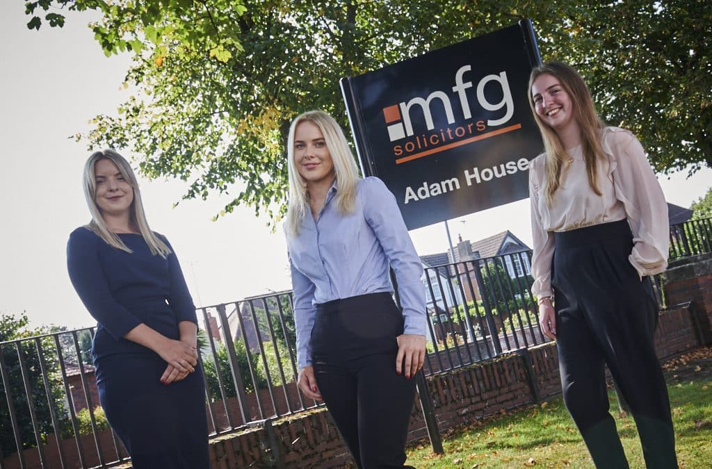 Newly Qualified Solicitors Complete Training Contracts At Law Firm Mfg