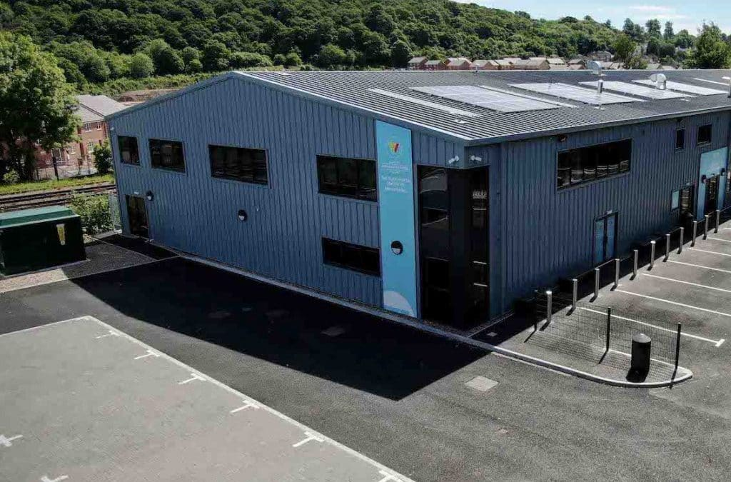 £4 million engineering training centre has been completed by Heart of Worcestershire College
