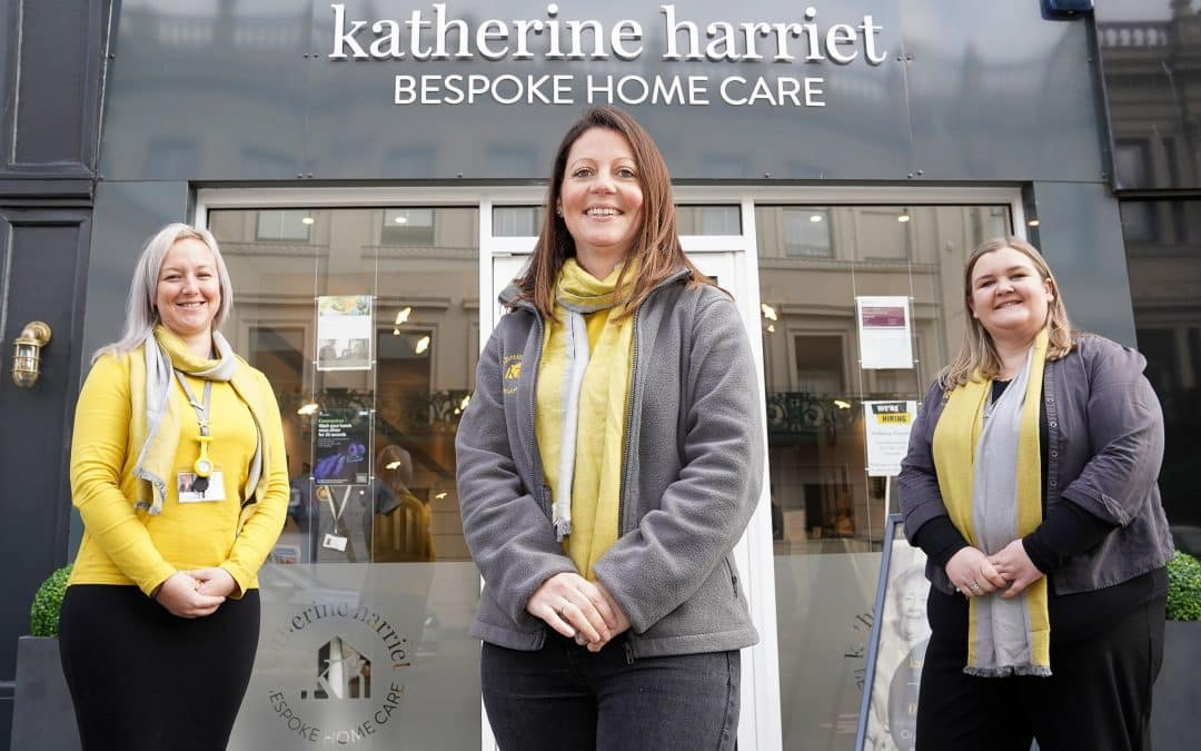 Katherine Harriet Ltd Win Care Employer Award 2020