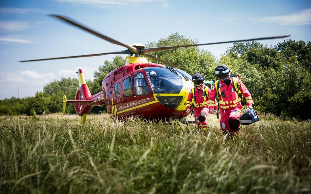 Air ambulance charity wins coveted Asian Business Chamber award