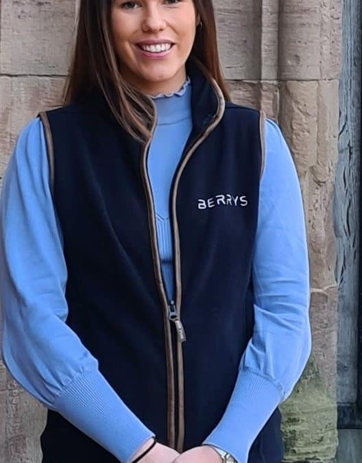 Placement student joins Berrys at Hereford