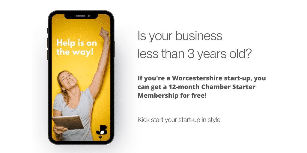 Worcestershire start-ups invited to apply for a fully funded business Membership!