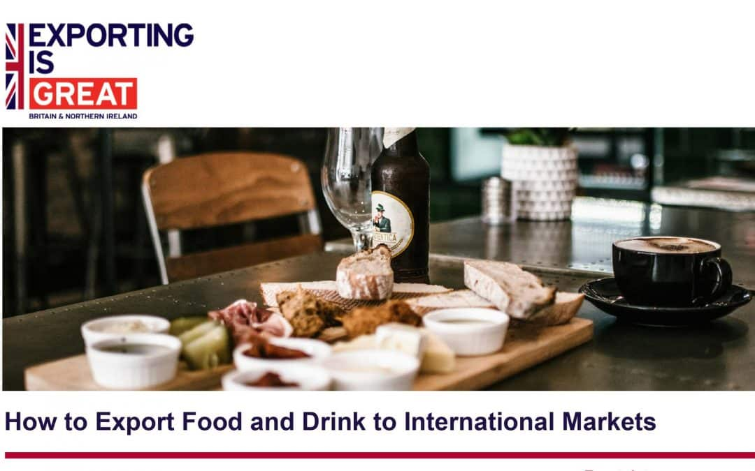 How to Export Food and Drink to International Markets