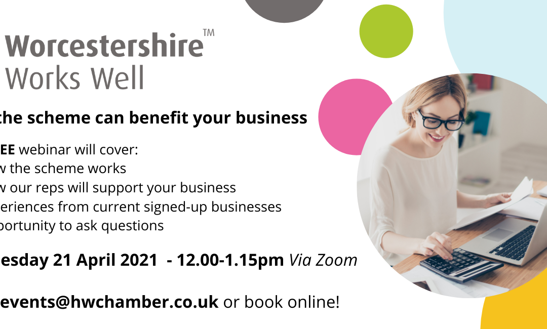 How can the Worcestershire Works Well scheme benefit your business?
