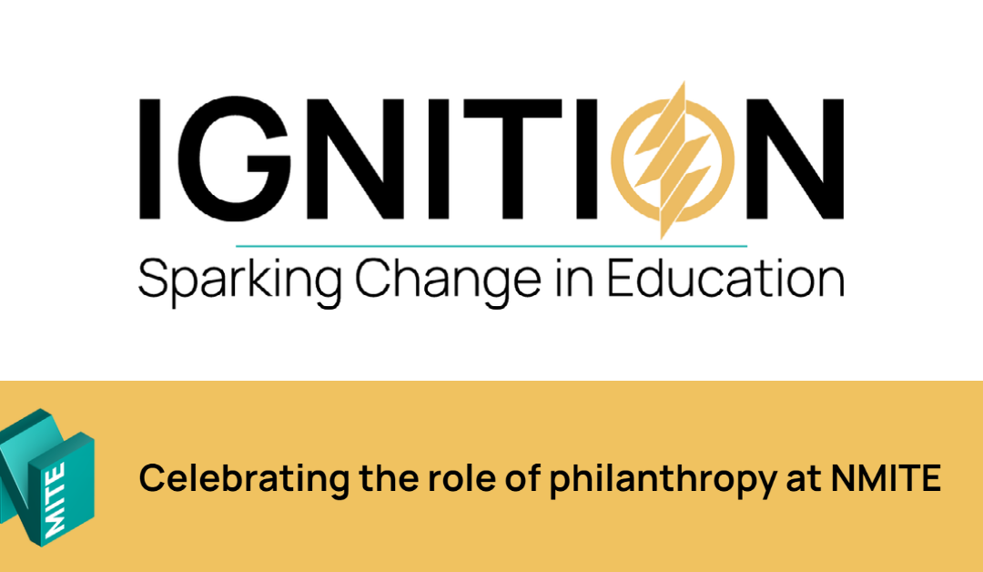 Celebrating the role of philanthropy at NMITE