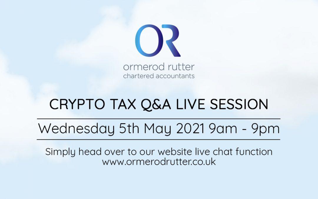Crypto live tax Q&A