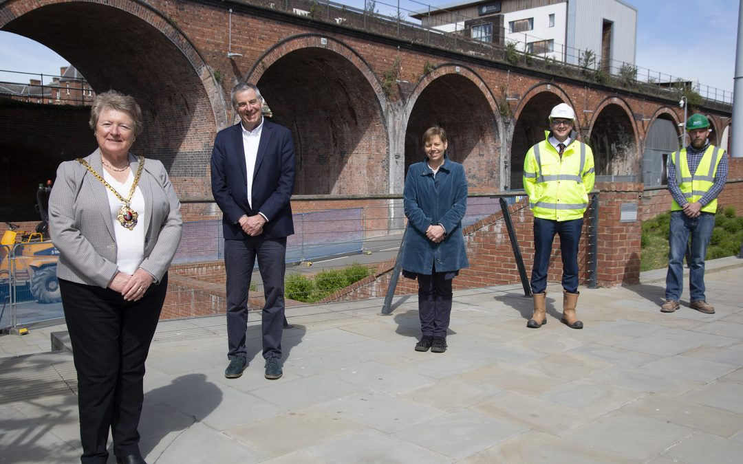 Work to Transform Worcester's Railway Arches into Cultural Hub Gets Underway