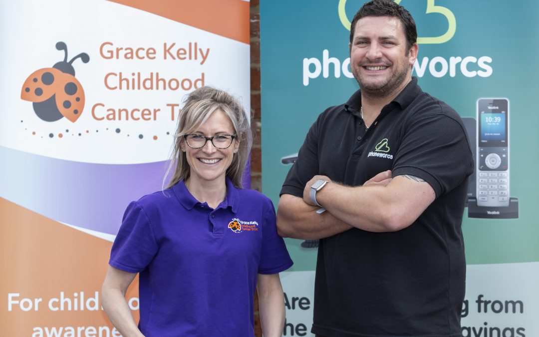 Phoneworcs new initiative to support local children's cancer charity