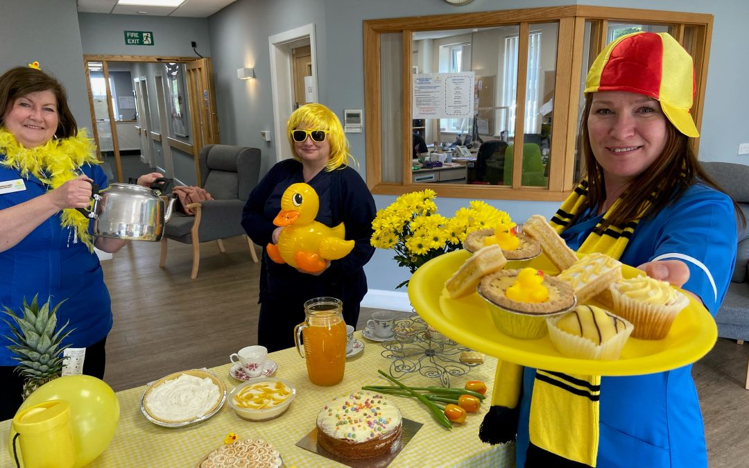 Join in Yellow Week and raise funds for Primrose Hospice