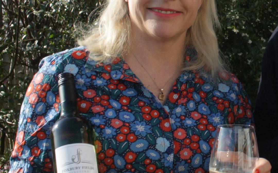Foxbury Fields Vineyard supports Hellens Garden Festival charity fundraiser