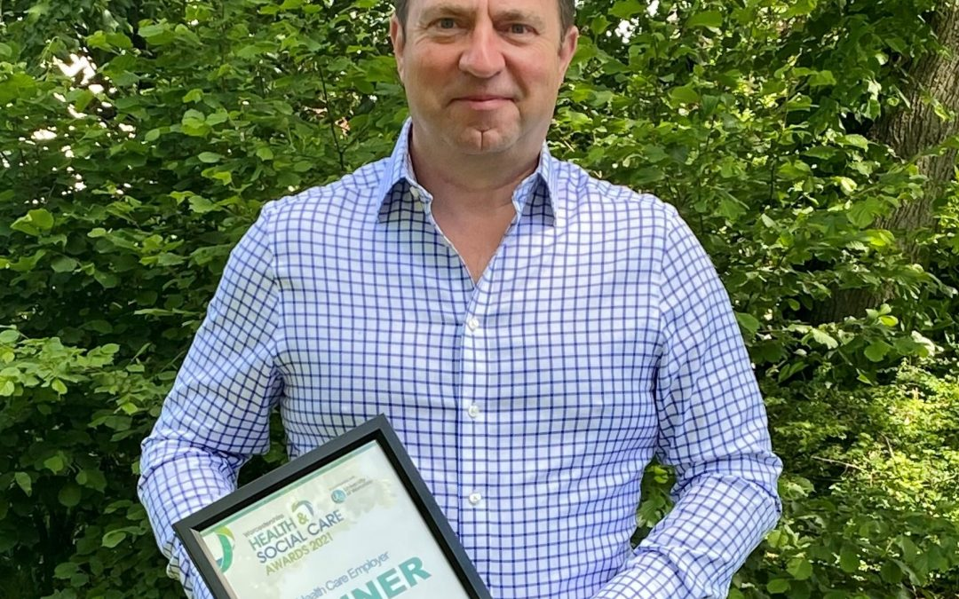 Worcestershire care home group boss wins top employee healthcare award