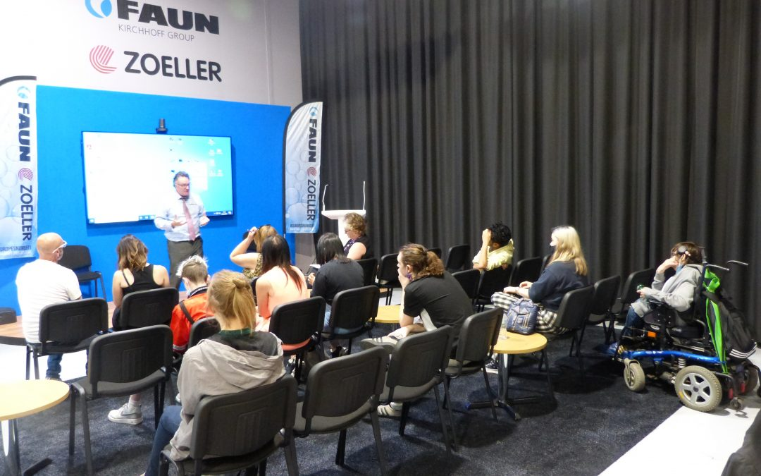 FAUN-Zoeller hosts Kidderminster College students