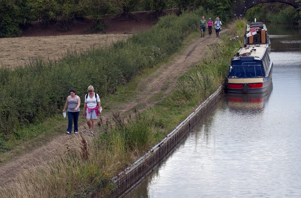 Walk Worcestershire's waterways for hospice care