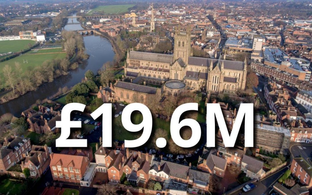 Worcester secures £19.6m to transform the city