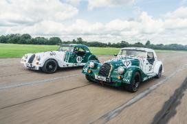 Racing season picks up pace for students as new Morgan cars revealed