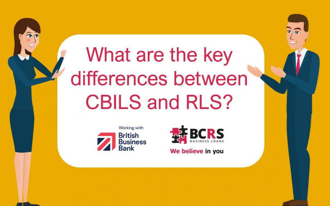 What are the key differences between CBILS and RLS?