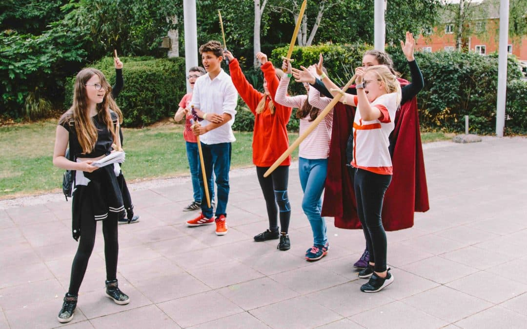 Children's summer holiday workshops at The Courtyard