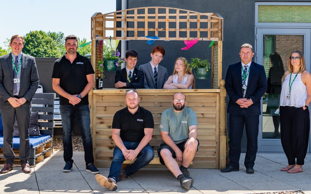 Students 'build' relationships with Worcester businesses