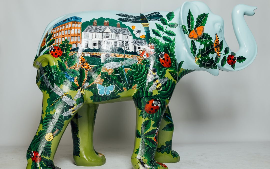 Makeover for Worcester streets as Chamber elephant among 66 stunning sculptures